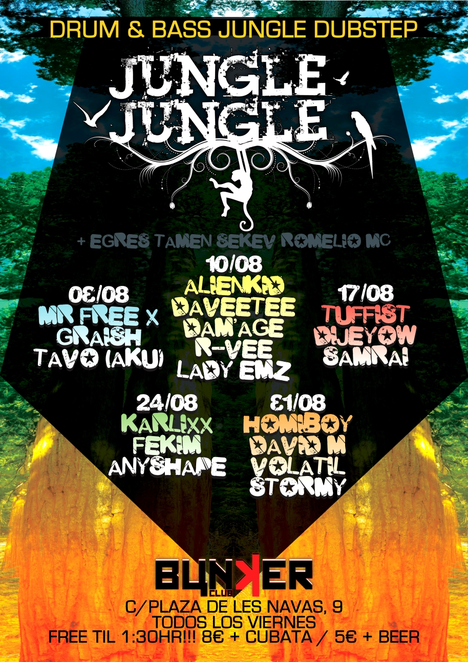 Jungle Jungle is BACK!!!!